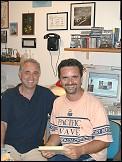 Silvio Moretti e Angelo Cannatà, gli autori del sito.